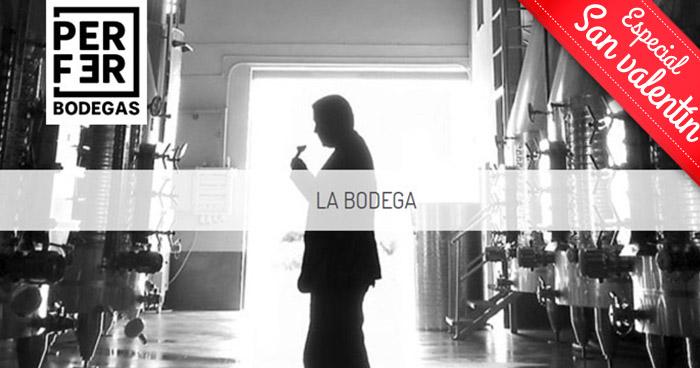 Regalazo para 2: Visita las instalaciones de Bodegas Perfer + Cata de Vino + Aperitivos