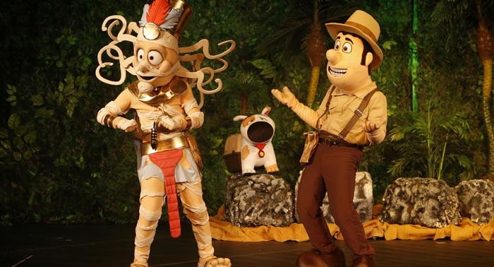 Entradas de Zona B para el teatro musical TADEO JONES ¡¡Diversión en familia!