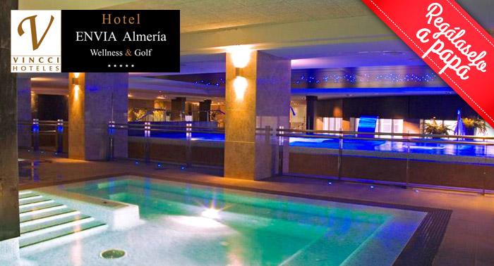 Circuito Spa de 120 min en Hotel Envía Almería Wellness & Golf ***** ¡¡¡500 m2 de spa!!!