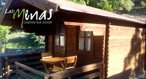 Escapada en naturaleza para 2: Alojamiento en Cabaña de madera + Cena + Desayuno en Las Menas