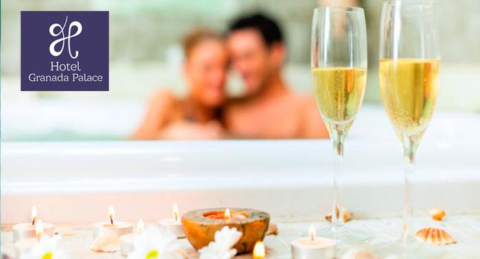 Spa Granada Palace + Té o Cava, + Opción a Masaje, Peeling o Cena ¡Puro relax!