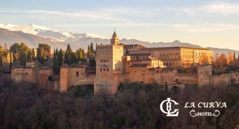 Escapada Romántica a Granada: Alojamiento para 2 + Desayuno buffet + Detalle de bienvenida