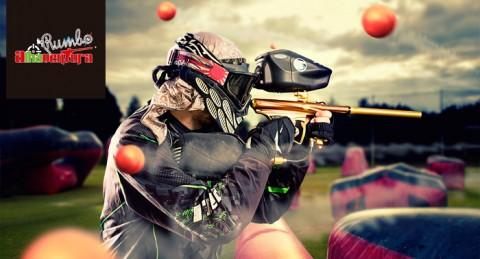 Partida de Paintball con Reportaje Fotográfico y Vídeo ¡Prepara tus armas para el asalto!
