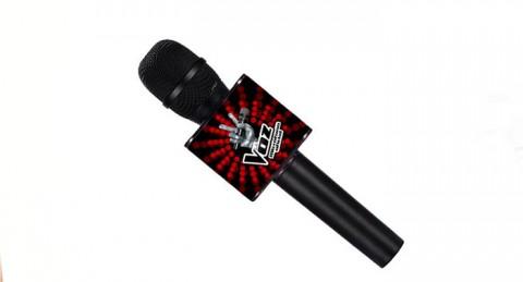 Canta y baila con el micrófono Karaoke de LA VOZ