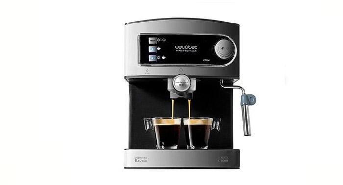 El mejor café sin salir de casa: Cafetera Cecotec Power Espresso 20