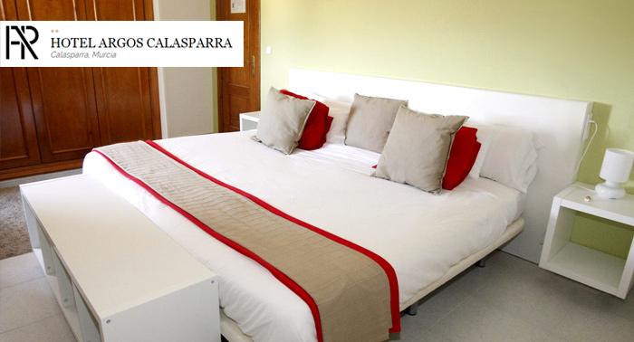 Hotel rural con encanto en Calasparra, Murcia, para 2 personas: Alojamiento con opción a MP