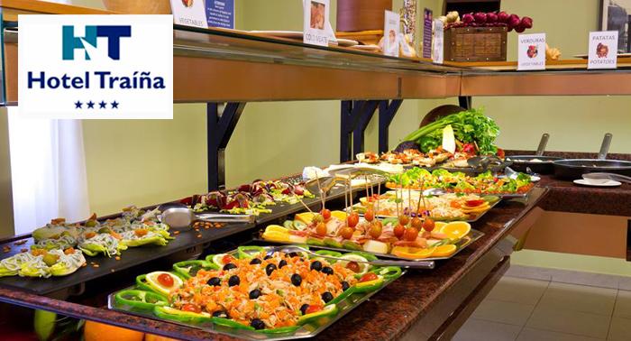 Escapada para 2 al Mar Menor con Desayunos y Cena Buffet + Botella de Cava