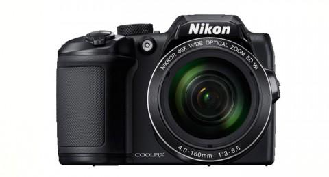 Graba cada instante: Cámara Nikon Coolpix B500 Negra + Funda + Libro
