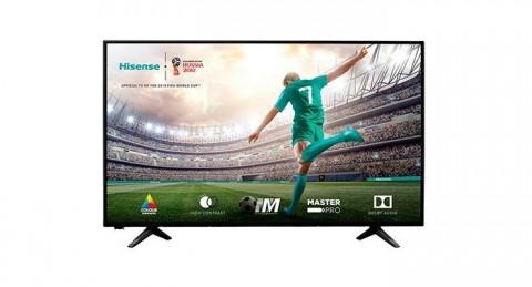 ¡No te pierdas el Mundial con la Televisión Led 43 Hisense H43A5100 FHD!