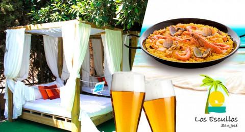 ¡Un día en el Parque Natural Cabo de Gata! Cama Balinesa + Piscina + opción de Paella y Bebidas