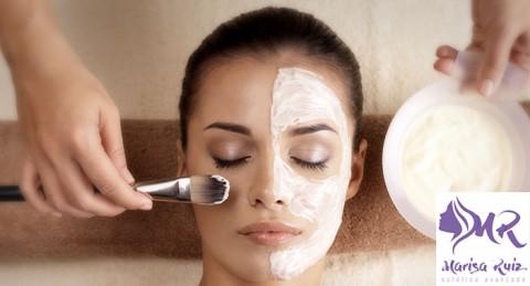 Mima tu rostro: Tratamiento Facial Deluxe con Masaje de Aromaterapia