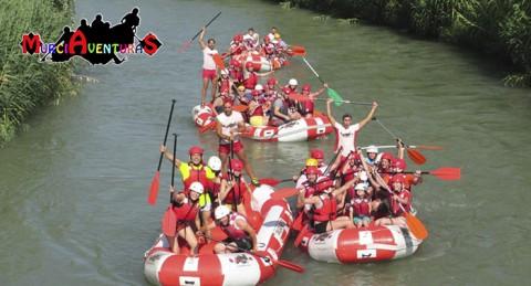 ¡Emociones fuertes en el Río Segura! Rafting con Almuerzo y Fotos