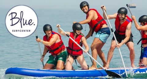 El deporte de moda en tu ciudad: Conoce el BigSUP, paddle surf gigante.