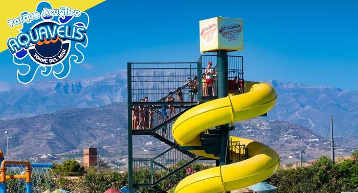 ¡Refréscate y pásalo en grande en Aquavelis! Parque Acuático + Experiencia Realidad Virtual