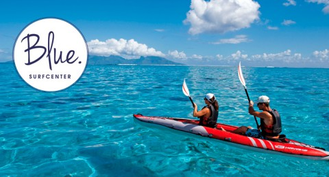 Para 2: Alquiler de Kayak doble durante 1h o 2h, en Roquetas de Mar. ¡Y a navegar!