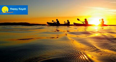 Ruta en Kayak al atardecer por el Parque Natural, San José + Reportaje fotográfico