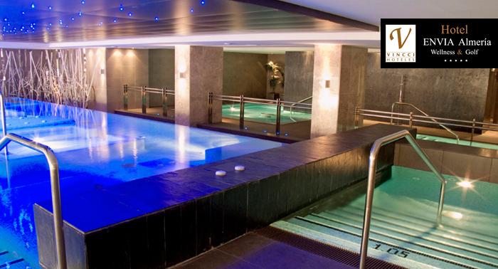 ¡Lujo en estado puro! Circuito Spa de 120 min en Hotel Envía Almería Wellness & Golf *****