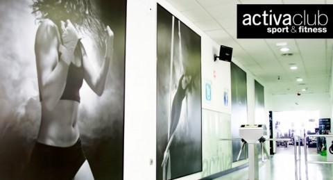 ¡Haz deporte y ponte en forma en Activa Club! Bono Acceso ilimitado de 1 o 3 meses + Matrícula
