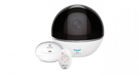 Controla y vigila cualquier punto de la habitación con la Cámara IP Wifi Ezviz C6T RF Edition