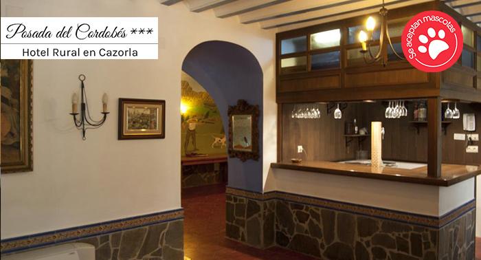 Hotel rural con encanto en Cazorla para 2: Alojamiento + Desayuno Continental + Cena Bienvenida