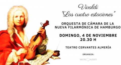 La Orquesta de Cámara de Hamburgo con 'Las Cuatro Estaciones' de Vivaldi en Teatro Cervantes