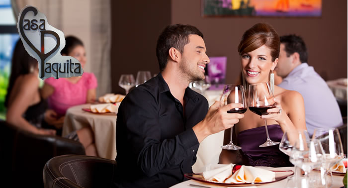 Disfruta con el mejor ambiente de una Cena Degustación en el Restaurante Casa Paquita