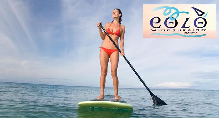 Descubre el Paddel Surf con este excelente curso impartido por el Centro Eolo.