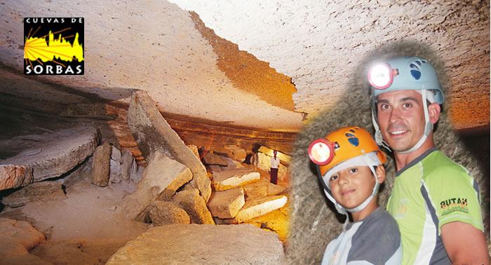 ¿No sabes que hacer este fin de semana? Almuerzo para niños y visita guiada a las Cuevas de Sorbas.