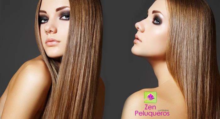 Presume de pelo, conquista con tu melena, peinado, corte o alisado de Keratina en Zen peluqueros