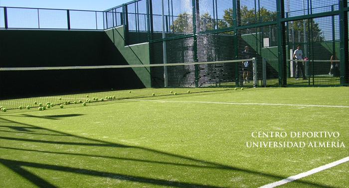 Pista de Pádel, Tenis o Piscina en UAL desde sólo 3€ la hora