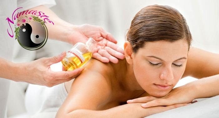 Masaje con Aromaterapia de 30 o 60min. Cuatro sinergias a elegir: relajante, reafirmante...desde 7€