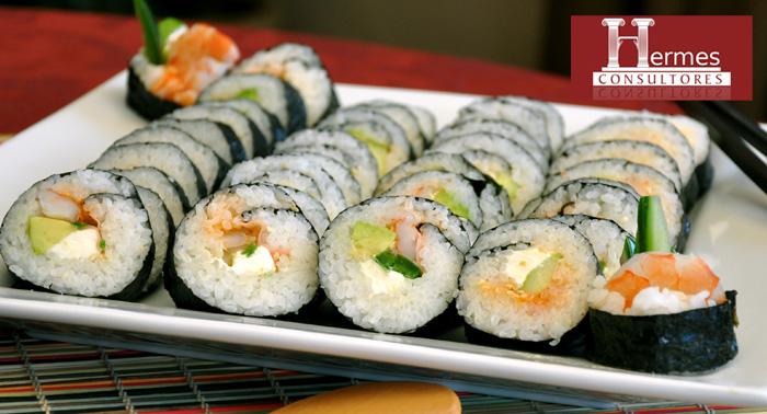 Curso de Sushi de la mano de Frank Gómez, con Degustación de platos elaborados o bandeja para casa.
