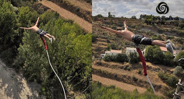 ¡Descarga adrenalina en un salto inolvidable! Bungee Jumping por sólo 35€ ¿Te atreves?