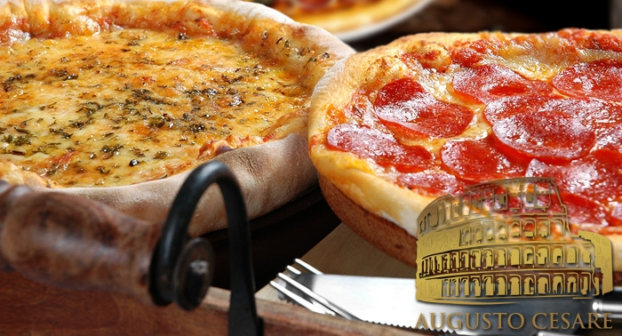 ¡Disfruta de la mejor cocina Italiana! Pizza o Pasta con 1 Bebida en Augusto Cesare