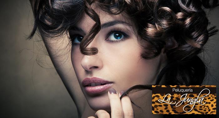 2 o 4 Sesiones de peluquería: lavado, masaje y peinado en Peluquería La Jungla, desde 5€/sesión