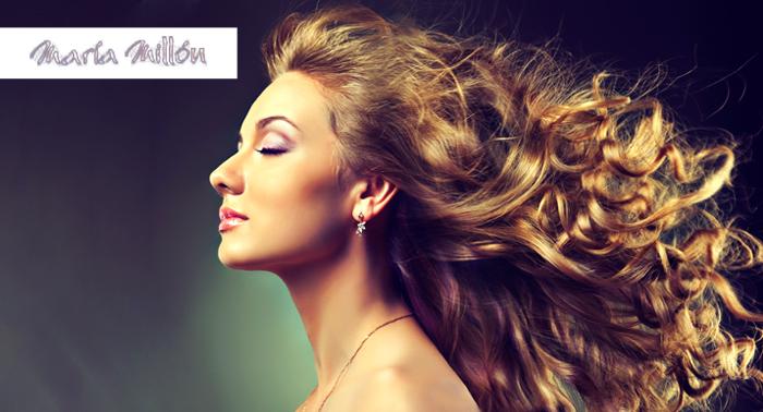 4 Sesiones de peluquería:  corte, tratamiento hidratación, masaje y peinado, 4.75€ cada sesión!