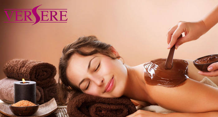 Regala el tratamiento más dulce!!! Masaje relajante con Chocolaterapia y crema de naranja