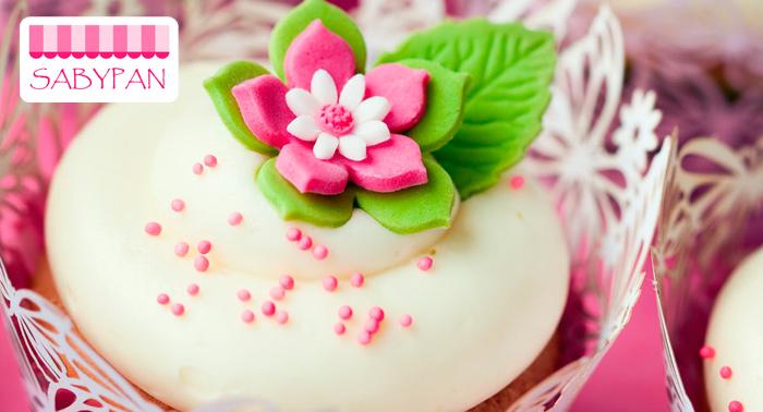 Curso de Galletas, Cupcakes Decoradas o Tarta Fondant, para padres e hijos 36€ y 1 persona 24€