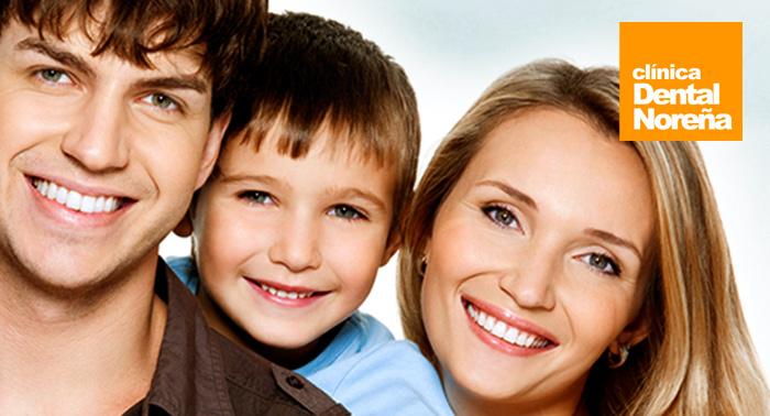 Dientes perfectos: Limpieza bucal con pulido dental, fluorización, revisión y radiografía