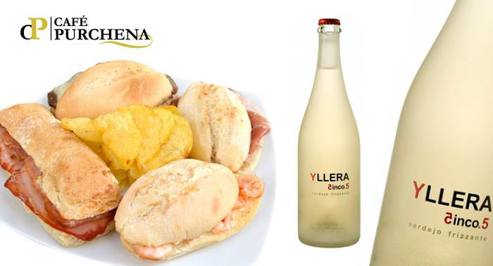 5 Quintos + 5 Montaditos, o Botella Vino + Ración desde 6.50€, en el centro de Almería