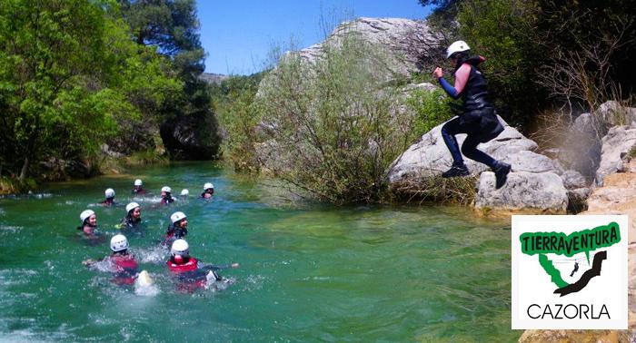 Aventura al máximo en el rio!!! Descenso de Cañones + Alojamiento + Desayuno