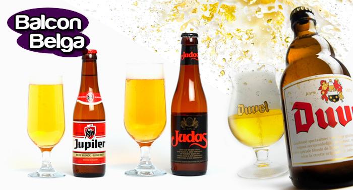 ¡Viaja a Alemania! 4 Cervezas Belgas + 4 platos típicos y 2 postres en el Balcón Belga