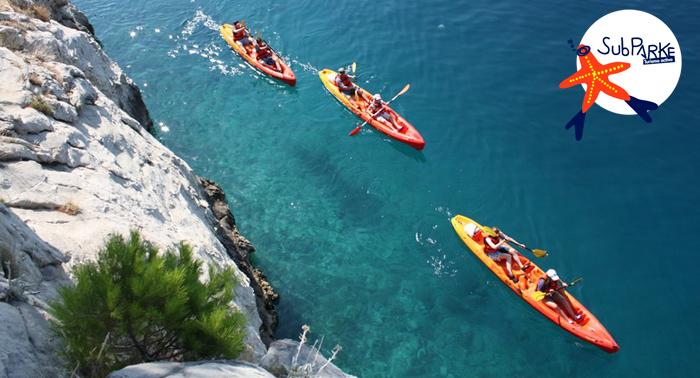 Descubre el Parque Natural Cabo de Gata Nijar: Ruta en Kayak + snorkel + Foto de recuerdo