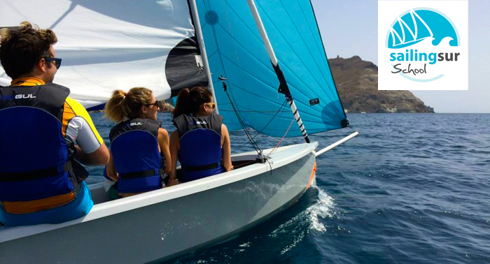 Ruta en Velero por el Parque Natural Cabo de Gata -Nijar + curso + snorkel + rep. fotográfico