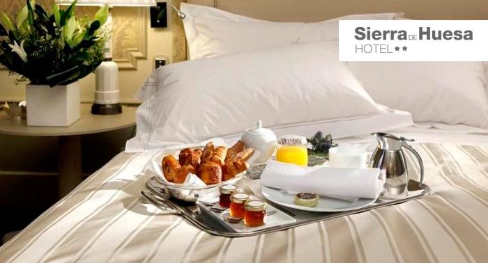 ¿Necesitas unas vacaciones? 2 noches, Desayuno, Detalle Bienvenida y cena para 2 personas