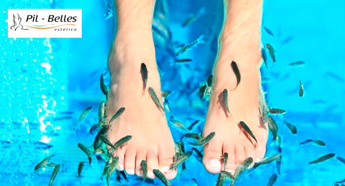 Masaje Podal, Ictioterapia y Arreglo de uñas en Pill Belles ¡Mima tus pies y lucelos preciosos!