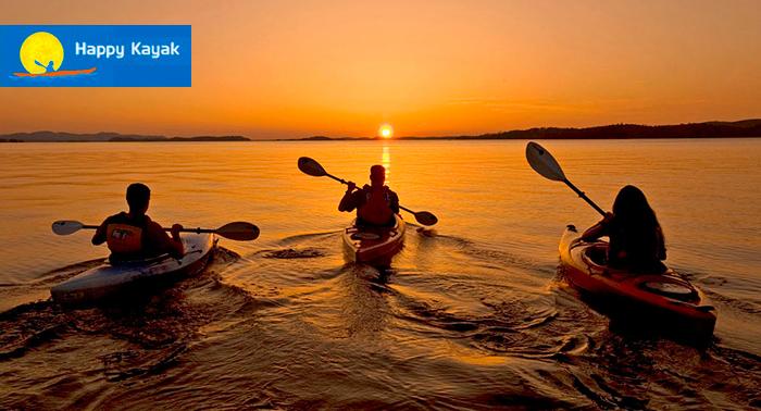 Ruta en Kayak al Atardecer por el Parque Natural de San José + Reportaje Fotográfico