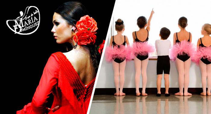 1 o 2 meses de clases de Sevillanas o Danza Infantil, desde 9,50€/mes ¡A bailar tod@s!