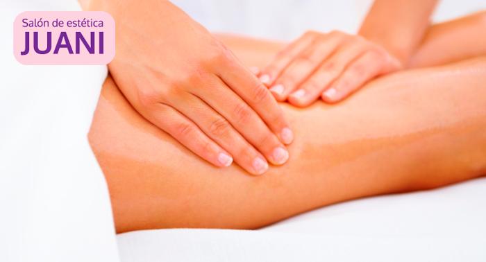 Masaje de Piernas Cansadas, Pedicura Completa, Trat. Protector de Uñas y Esmaltado Permanente