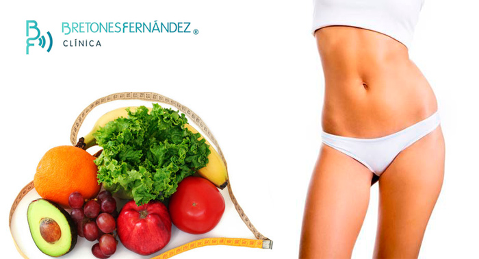 Consulta de nutrición clínica + elaboración de dieta personalizada + elaboración de menús